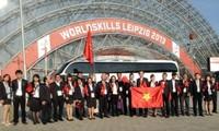 Vietnam merebut 7 sertifikat dalam Kontes Ketrampilan Sedunia ke-42