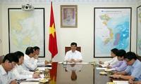 PM Nguyen Tan Dung melakukan temu kerja dengan pimpinan provinsi Hai Duong