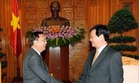 PM Nguyen Tan Dung menerima Duta Besar Thailand dan India
