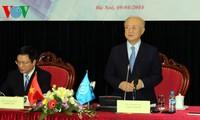 Dirjen IAEA mengadakan jumpa pers sehubungan dengan kunjungan kerjanya di Vietnam