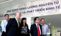 Dirjen IAEA melakukan kunjungan kerja di provinsi Ninh Thuan