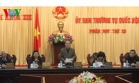 Meneruskan sidang ke-25 Komite Tetap MN Vietnam