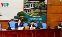 Konferensi evaluasi Badan pengarahan program target nasional membangun pedesaan baru tahun 2013