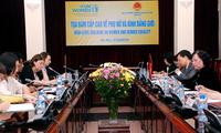 Jaring pengaman sosial, kunci untuk mencapai keberhasilan dalam menyerahkan hak kepada kaum perempuan dan anak-anak perempuan