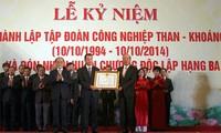 Peringatan ultah ke-20 Hari Berdirinya Grup Industri Batu Bara – Mineral Vietnam