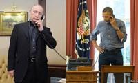Pemimpin Rusia dan Amerika Serikat melakukan pembicaraan via telepon menjelang pertemuan puncak Normandie tentang Ukraina