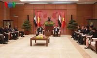 Ketua MN Nguyen Sinh Hung menerima Ketua Majelis Rendah Sudan