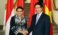 Vietnam dan Indonesia berusaha mencapai nilai perdagangan bilateral sebesar 10 miliar dolar Amerika Serikat pada 2018