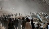 Tanah longsor di Afghanistan yang menewaskan kira-kira 50 orang