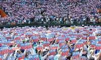 Jepang: pawai besar-besaran untuk meminta menutup pangkalan militer Amerika Serikat di Okinawa