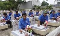 Seluruh negeri mengadakan banyak aktivitas balas budi kepada para pahlawan dan martir