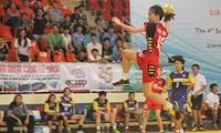 Vietnam menjadi juara putra dan juara putri dalam turnamen bola tangan Asia Tenggara 2015