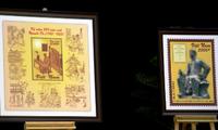 Pengedaran perangko sehubungan dengan peringatan ultah ke-250 Lahirnya Penyair Besar Nguyen Du