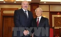 Kunjungan yang meningkatkan arti hubungan bilateral Vietnam – Belarus