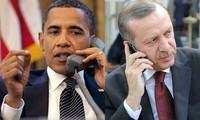 Amerika Serikat dan Turki berkomitmen bekerjasama untuk membasmi IS