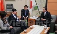Vietnam memperhebat kerjasama ekonomi dengan provinsi Fukushima, Jepang
