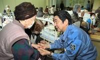 PM Jepang memberikan bimbingan menambah APBN untuk rekonstruksi daerah-daerah yang terkena gempa bumi