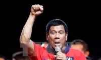 Presiden terpilih Filipina, Rodrigo Duterte menegaskan kembali komitmen-komitmen dalam kampanye pemilu