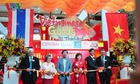 Pekan barang dagangan Vietnam di Thailand yang bergelora