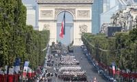 Défilé du 14 juillet: la fraternité d'armes à l'honneur