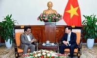 Pham Binh Minh reçoit le vice-ministre permanent des AE du Bangladesh