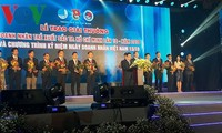 Ho Chi Minh-ville distribue des prix de jeunes entrepreneurs excellents