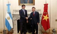Le Vietnam et l'Argentine boostent leur coopération économique et commerciale