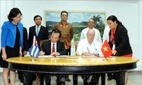 Clôture de la 36e session du comité intergouvernemental Vietnam-Cuba