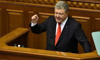 Ukraine: le président Petro Porochenko annonce la fin de la loi martiale