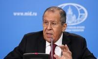 La conférence de presse annuelle de Sergueï Lavrov