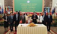 Clôture de la 27e Assemblée annuelle du Forum parlementaire d'Asie-Pacifique