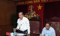 Truong Hoa Binh en visite à Bac Kan