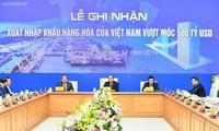 La valeur du commerce des produits vietnamiens atteint 500 milliards de dollars