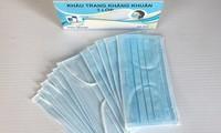 Les masques sanitaires sont exportées avec permission
