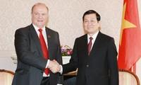 Kooperation der Parteien Vietnams und Russlands