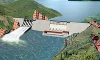 Spatenstich für das Wasserkraftwerk Trung Son