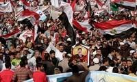 Ägypten: Islamisten unterstützen Präsident Mursi  mit einer Machtdemonstration
