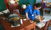 """Studenten nehmen am Programm """"Studenten mit Meer und Inseln Vietnams"""" teil"""