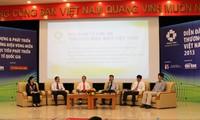 Entwicklung des Markenzeichens vietnamesischer Meere und Inseln