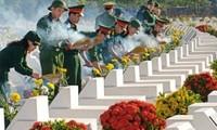 Vietnamesische Provinzen feiern Tag der Kriegsinvaliden und Gefallenen