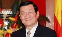 Staatspräsident Sang trifft neue Botschafter