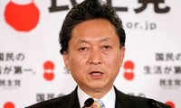 Staatspräsident Sang trifft den Ex-Premierminister Japans Yukio