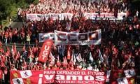 Spanien: Ausschreitungen bei Demonstration gegen Sparpolitik
