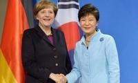 Berlin und Seoul fordern Pjöngjang zum Verzicht auf sein Atomprogramm auf