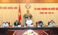 Ständiger Ausschuss diskutiert Gesetzesentwurf zur Organisation des Parlaments