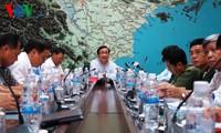 Vize-Premierminister Hai leitet Online-Konferenz zum Schutz vor Taifun Rammasun
