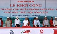 Ausbau der Autobahn Phap Van – Cau Gie
