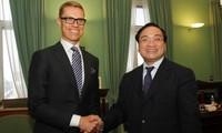 Vize-Premierminister Hai besucht Finnland