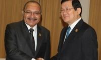 Aktivitäten des vietnamesischen Staatspräsidenten im Rahmen des APEC-Gipfels