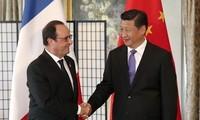 China und Frankreich verstärken ihre strategische Partnerschaft